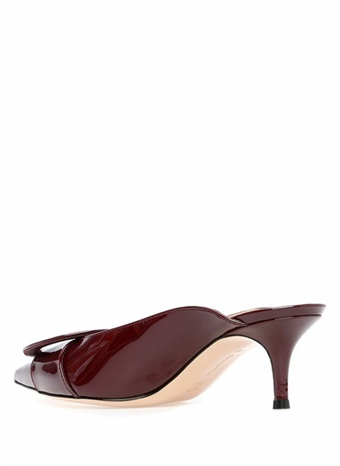 Gianvito Rossi Terlik Bordo